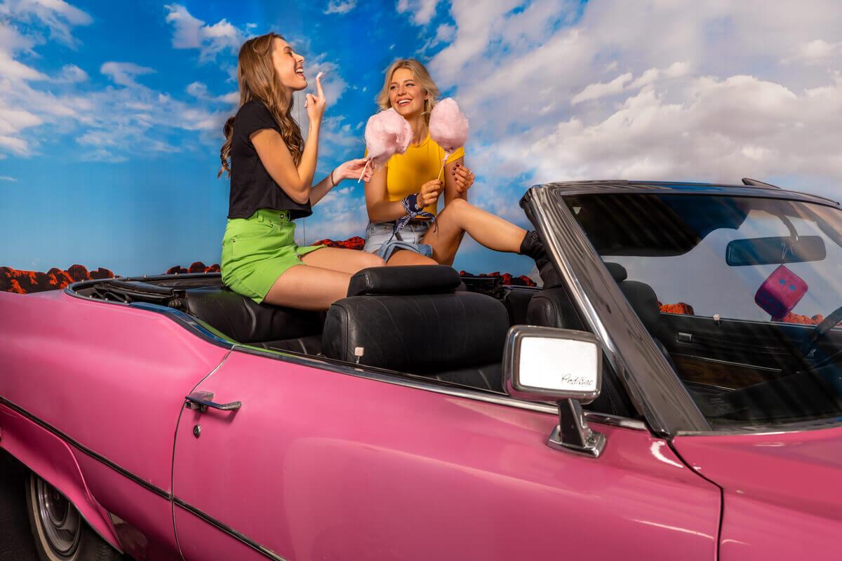 Cadillac Köln für Selfies